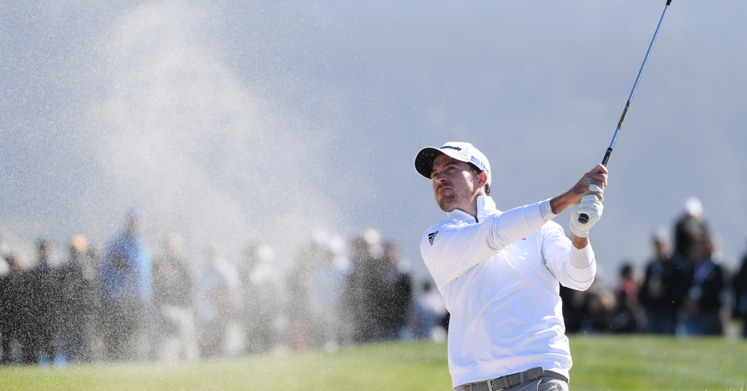 Nick Taylor Pulls Away From Mickelson to Win at Pebble Beach