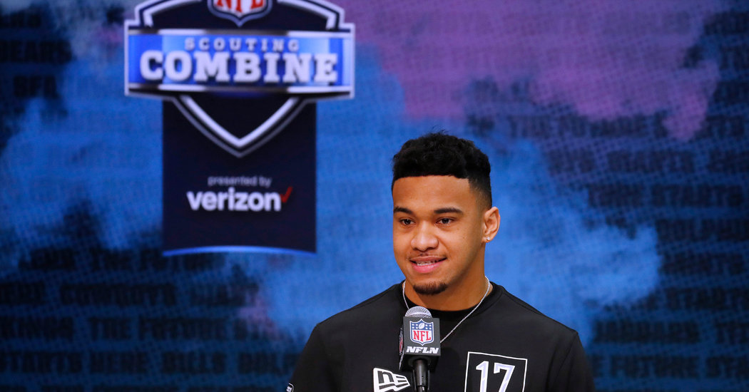 How the N.F.L. Draft Process Works From Home