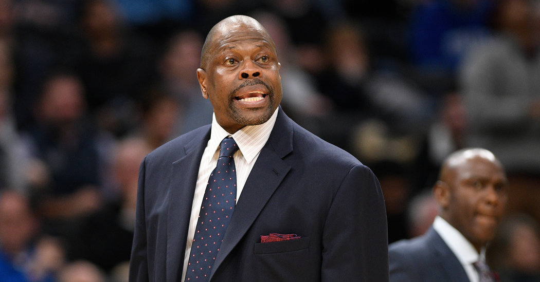 Patrick Ewing Says He Has Covid-19