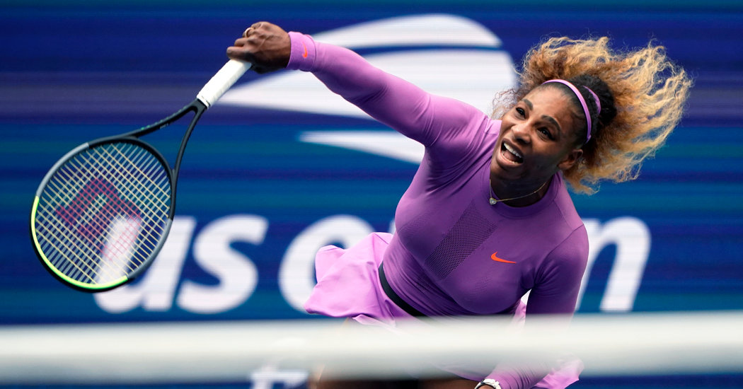 As Other Stars Waver, Serena Williams Says She'll Play in the U.S. Open