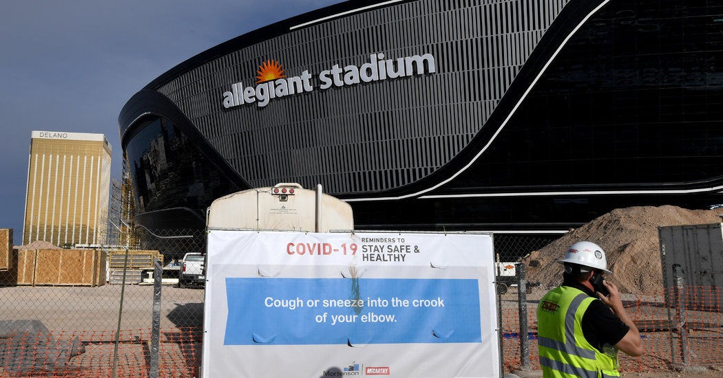 N.F.L. Owners, Players in Talks on How to Offset Loss of Fans