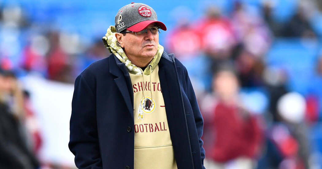 Washington N.F.L. Team Owner Files Claims Hinting at a Conspiracy