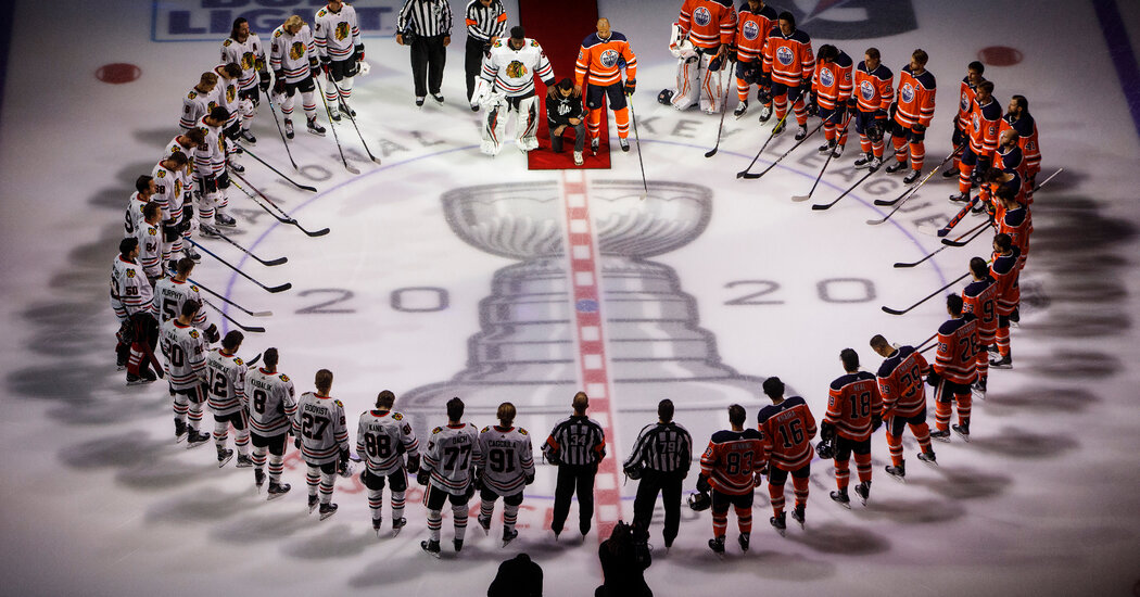 Hockey, Rocked by Racist Acts, Embraces Black Lives Matter Campaigns