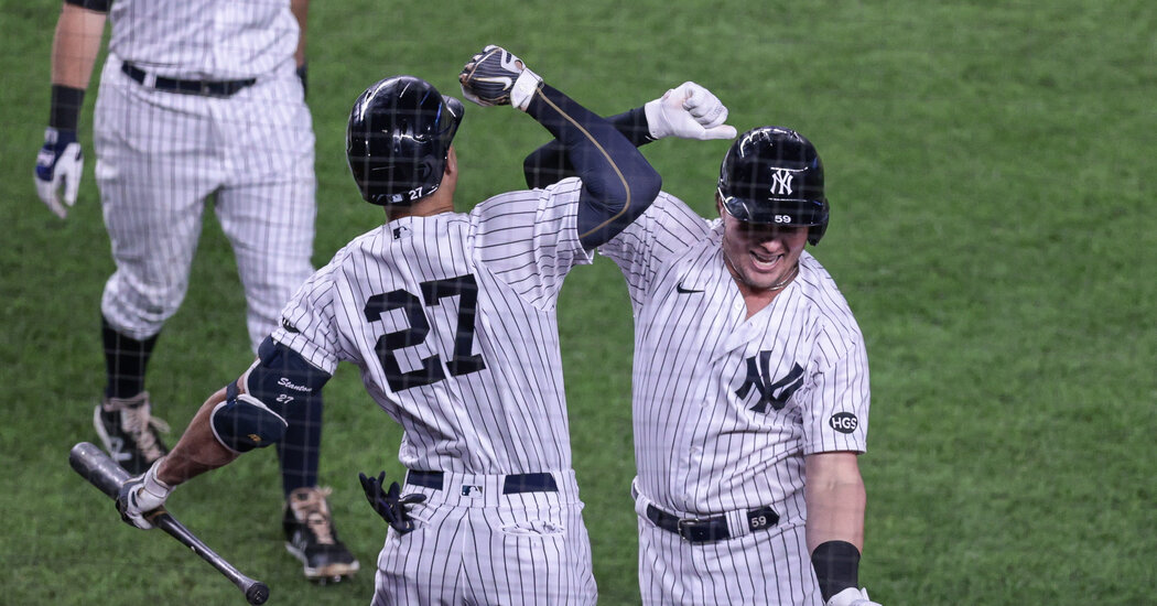 'We're Back to Being the Bronx Bombers': Yankees Burst Out of a Slump