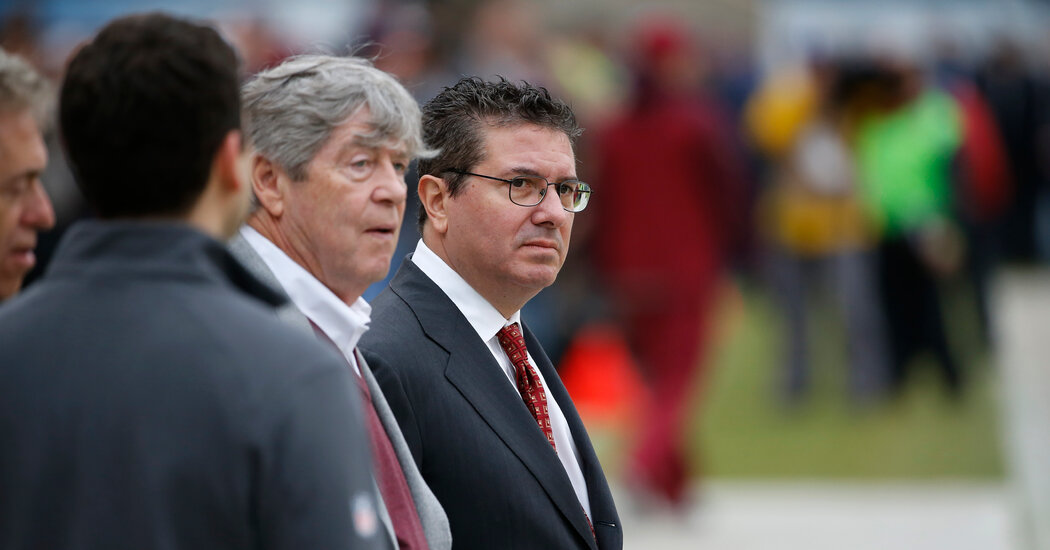 Washington N.F.L. Team's Drama Fueled by Owners' Fight Over Payout