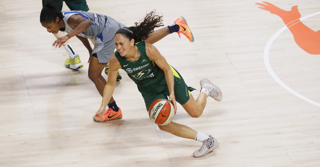 Don't Get Star-Struck Playing Sue Bird. She's Here to Win.