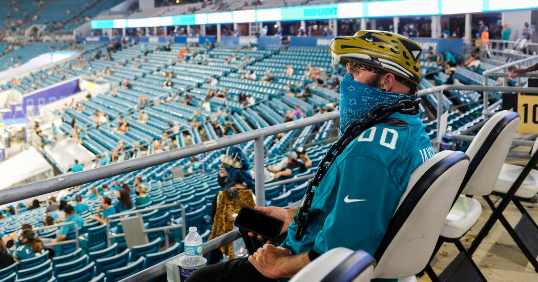 What a Sold-Out N.F.L. Game Is Like in 2020