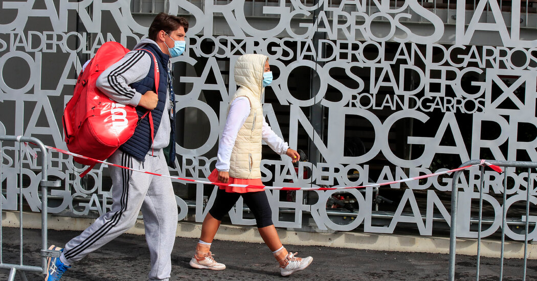 As the French Open Begins, Confusion and Fears About Coronavirus Dominate
