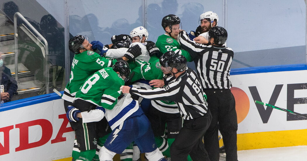 Hockey Needs Viewers. It Should Not Glorify Pain and Violence to Get Them.