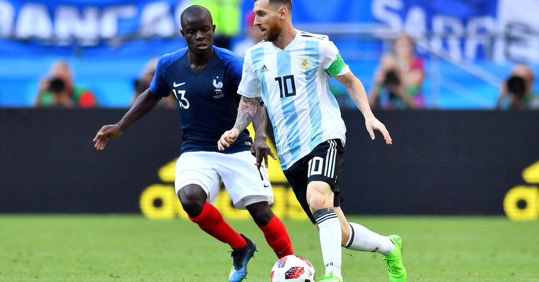 Soccer Battle Looming Over National Team Games