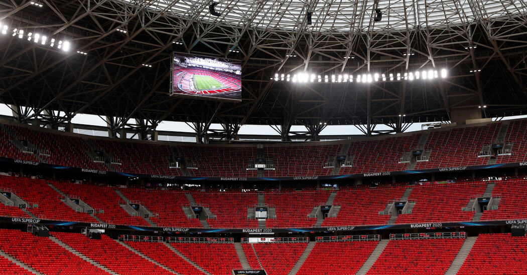 Even as Virus Surges, Hungary Forges Ahead With Super Cup Soccer Game