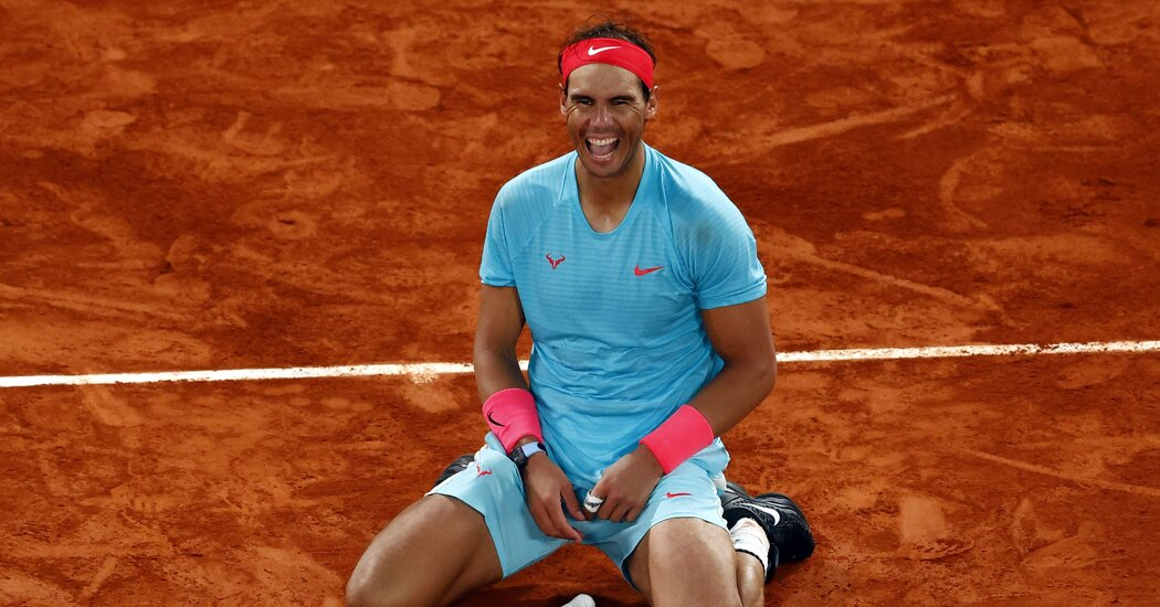 Rafael Nadal Routs Novak Djokovic at French Open to Catch Roger Federer