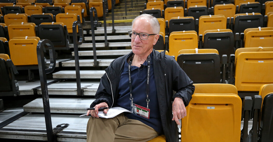 Hockey Broadcaster Mike 'Doc' Emrick Retires