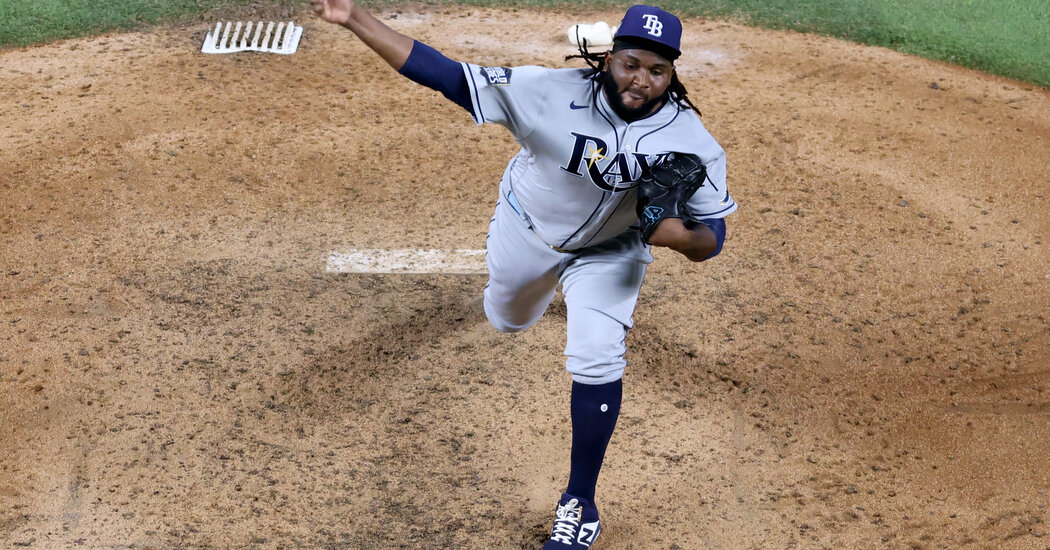 Rays Rely on a Bullpen With a Simple Aim: Throw It Over the Plate