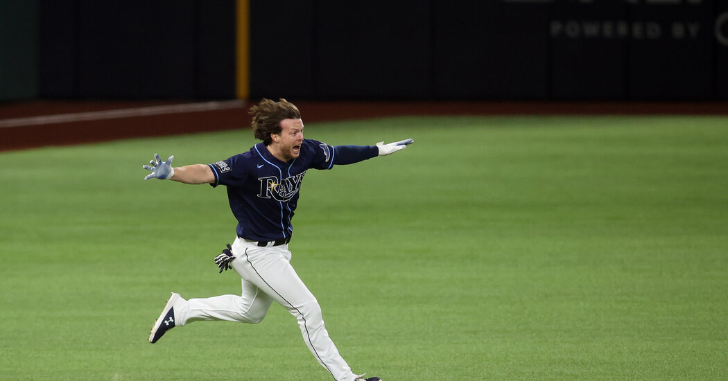 Brett Phillips Becomes the Rays' Latest Unlikely Hero