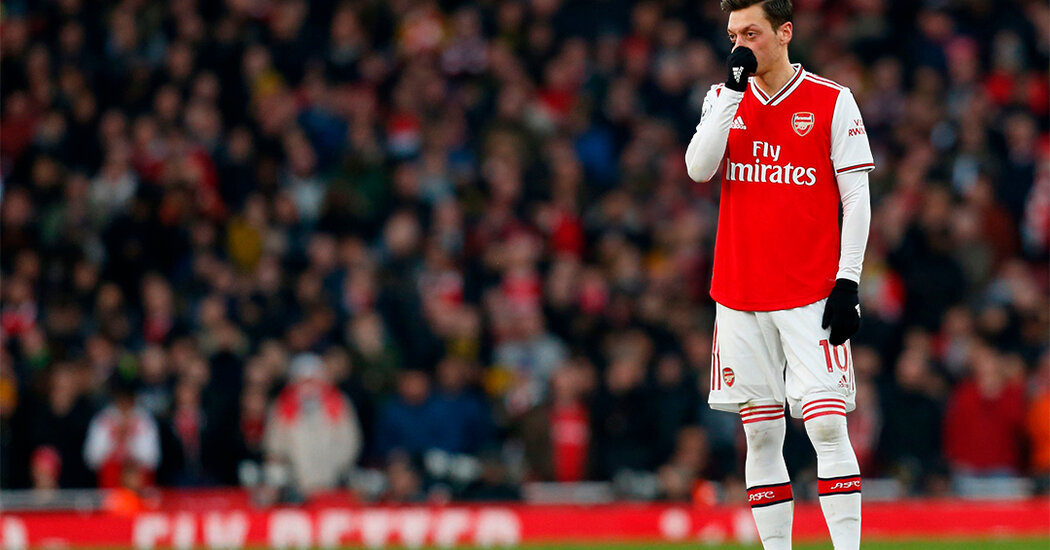 The Erasure of Mesut Özil