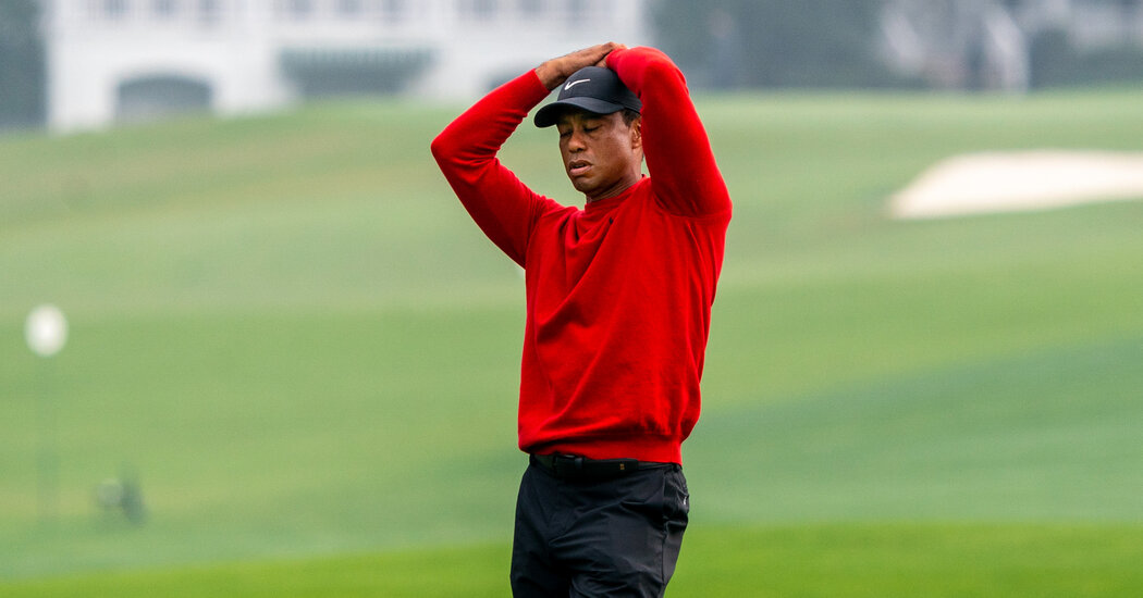 Tiger Woods Faced Disaster at the Masters. He Stuck Through It Anyway.