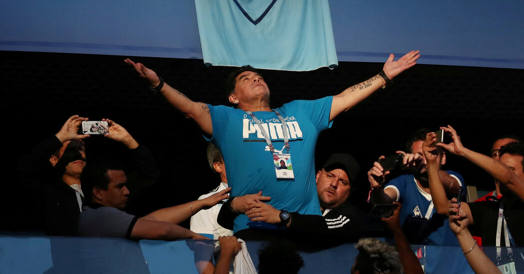 Diego Maradona and All That We Have Lost